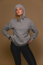 XO Hugs and Kisses Minimal Hoodie Street Grey