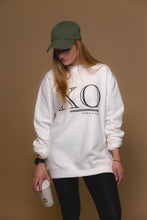 XO Hugs and Kisses Crewneck XO White