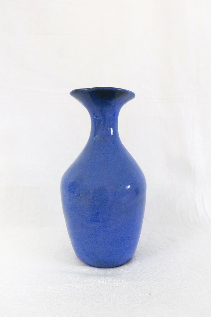 Jade Paton Vessel 03 in Blue Glaze
