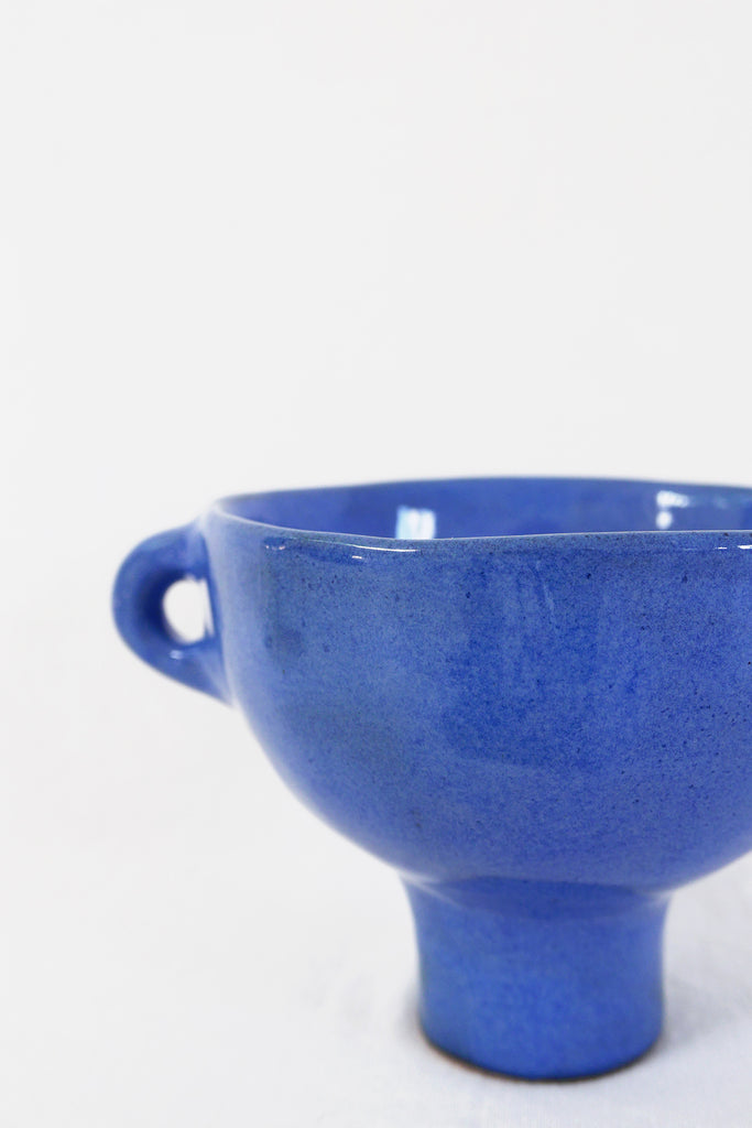 Jade Paton Large Bowl in Blue Glaze