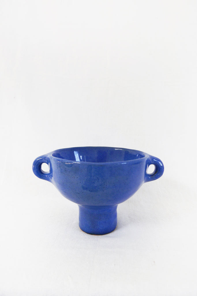 Jade Paton Small Bowl in Blue Glaze