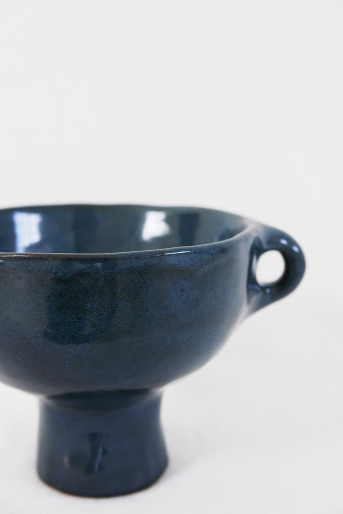 Jade Paton Small Bowl in Midnight Glaze