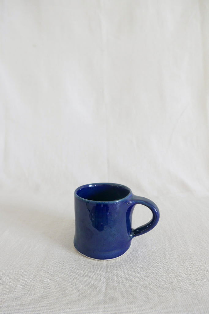 Mervyn Gers Coffee Cup in Blue Glaze