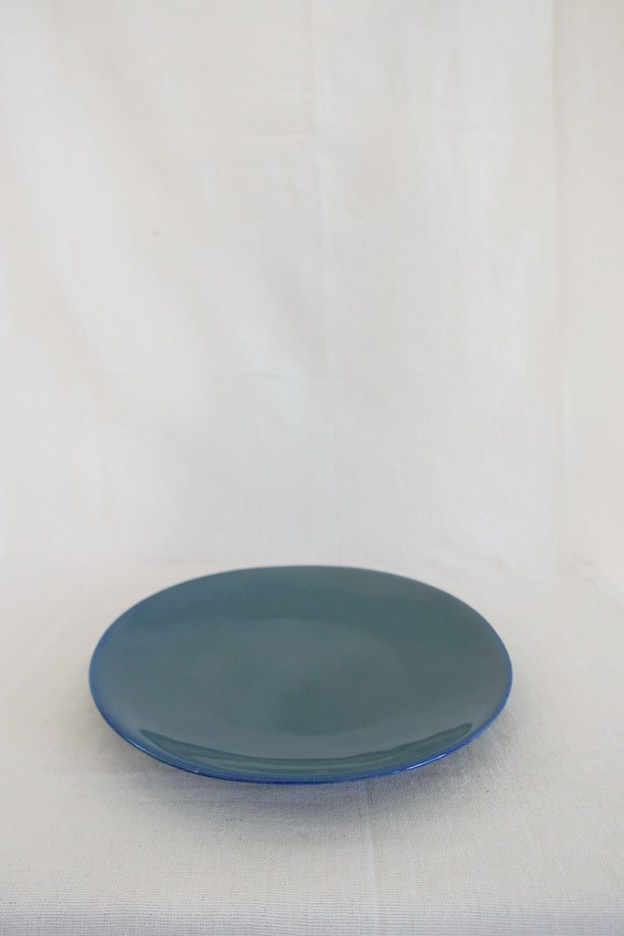 Mervyn Gers Dinner Plate in Blue Glaze