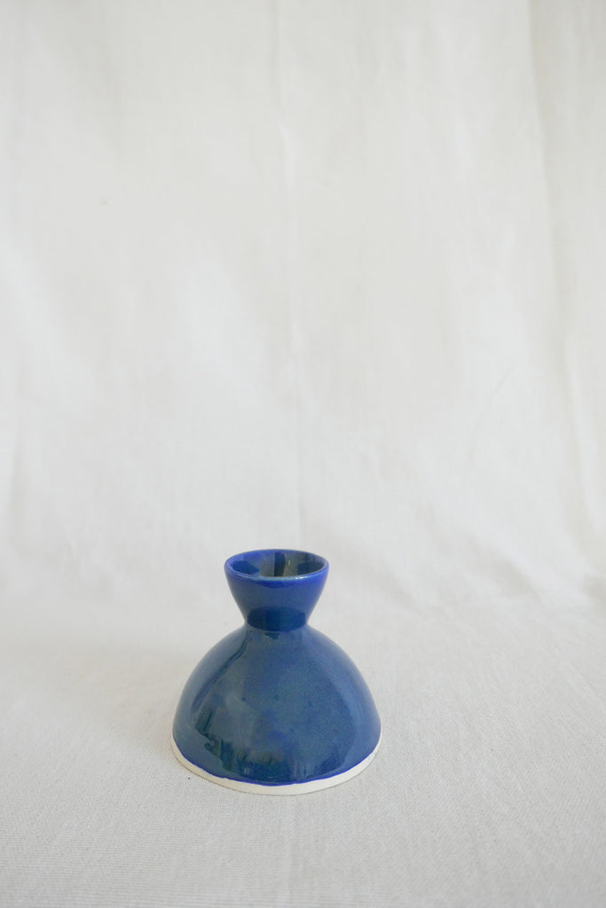 Mervyn Gers Egg Cup in Blue Glaze