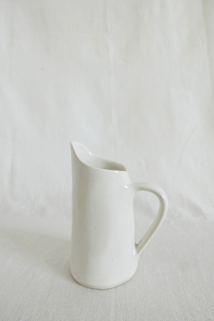 Mervyn Gers Milk Jug in White Glaze