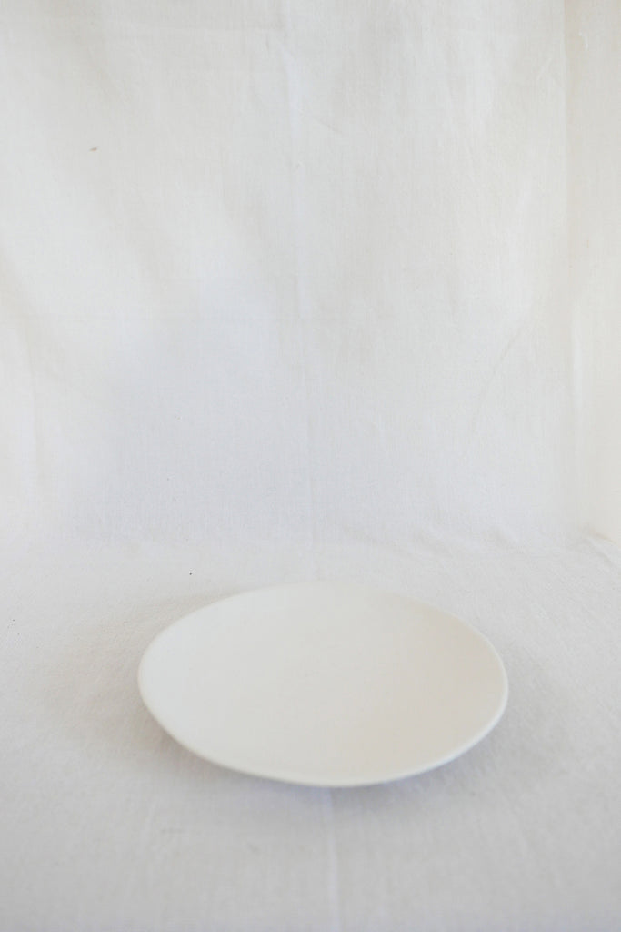Mervyn Gers Side Plate in White Glaze