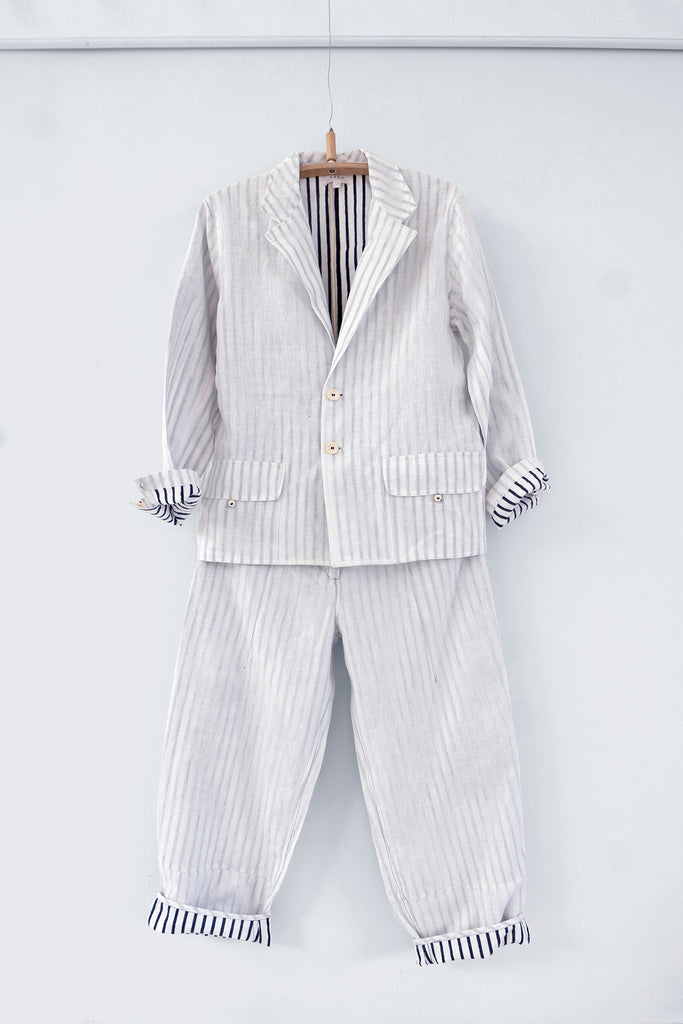 Apprentice Suit in Handloom Linen (Set)