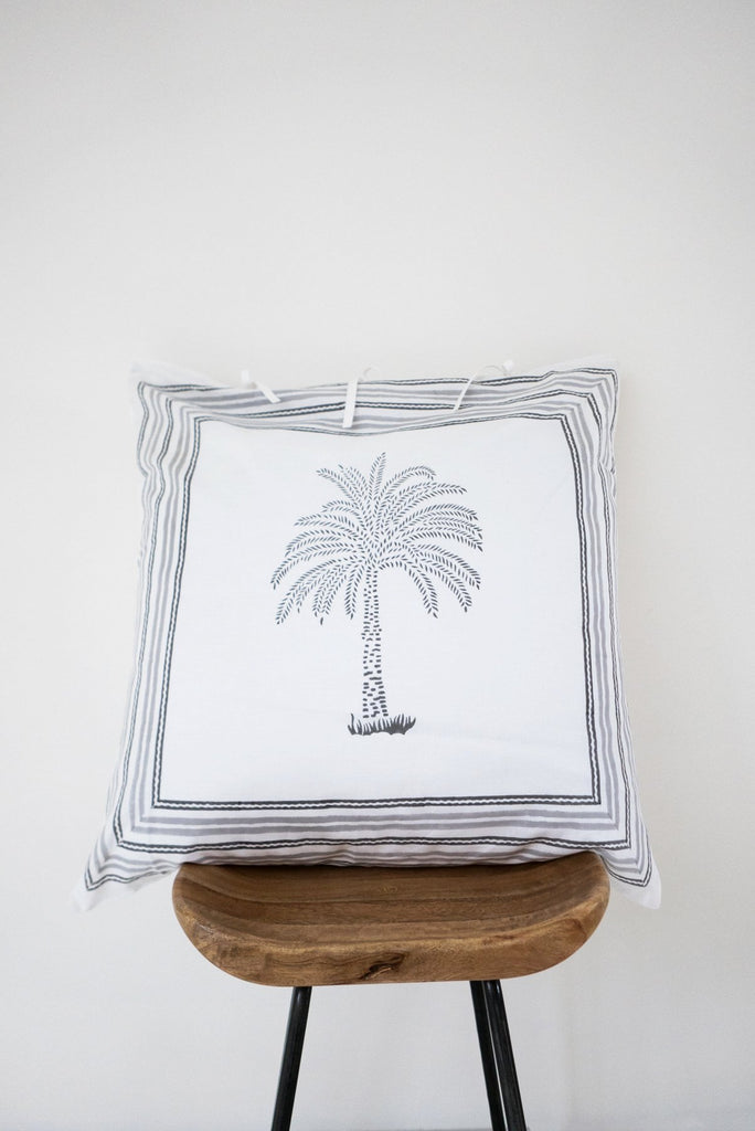 Lala Palm Pillow Cover