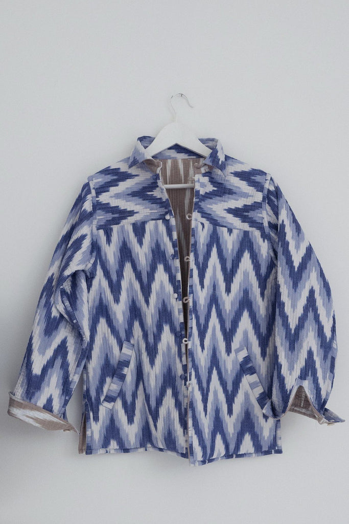 Reversible Ikat Jacket