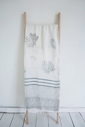 Scarf in Hand Loomed Linen