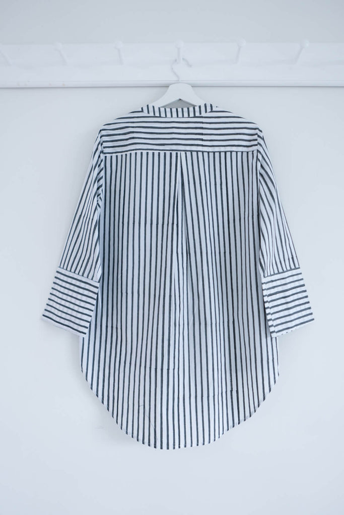 Striped Boyfriend Shirt