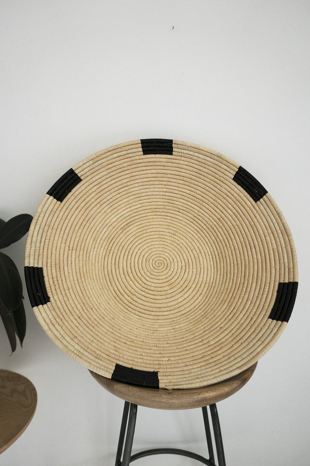 Large Geometric Platter by Design Afrika