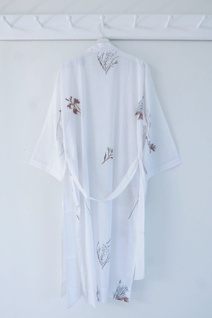 Fynbos Robe in Organic Cotton