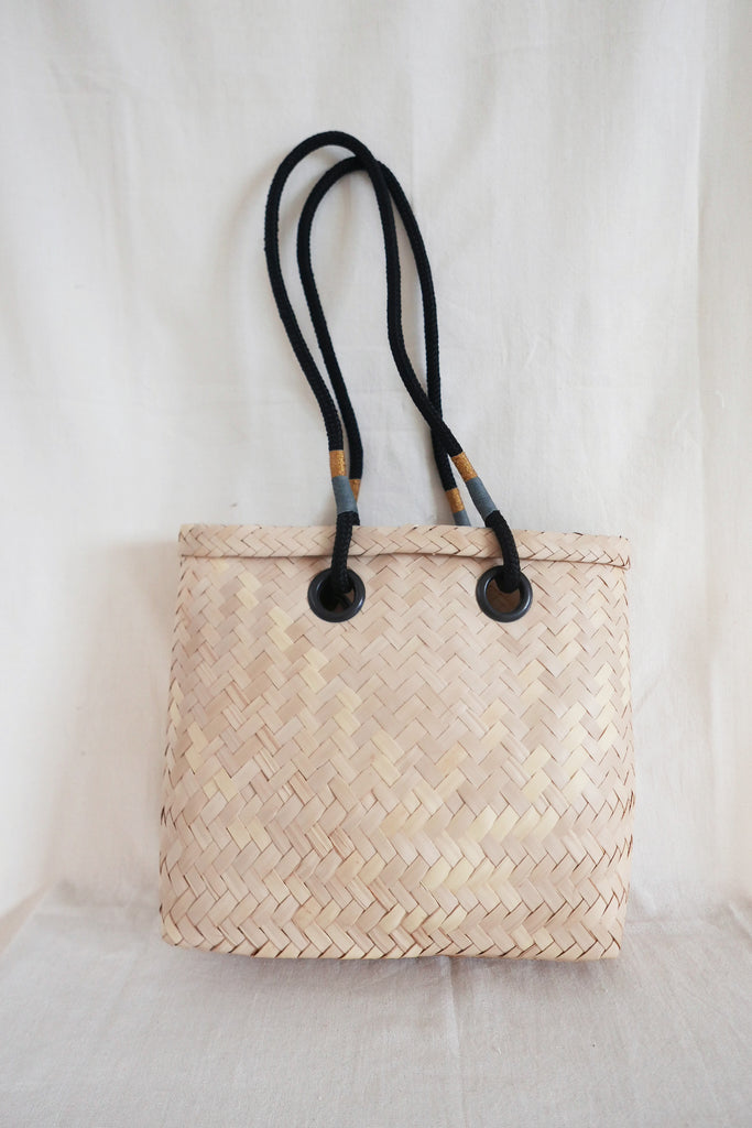Handwoven Carryall Basket