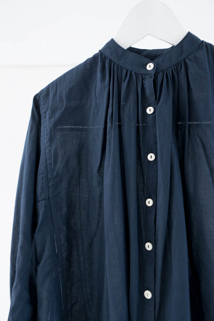 Potter's Blouse in Navy