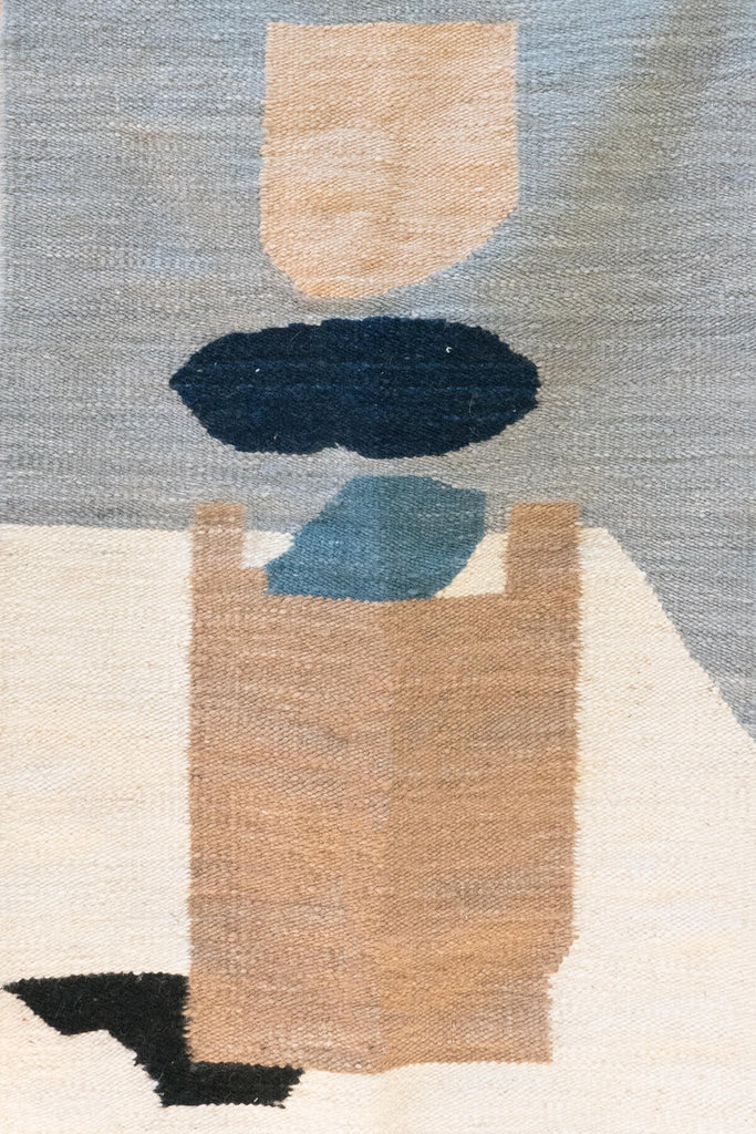 Karu X Frances V. H. 'Still Life with Cup' Mohair Rug