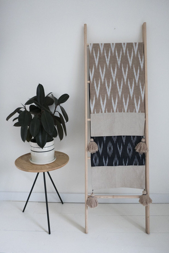 Reversible Ikat Table Runner