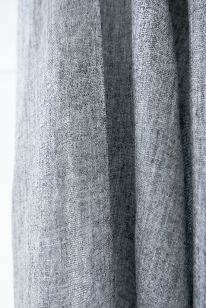 Wool Scarf in Cloud Grey