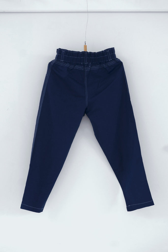 Trader's Trousers in Midnight Blue