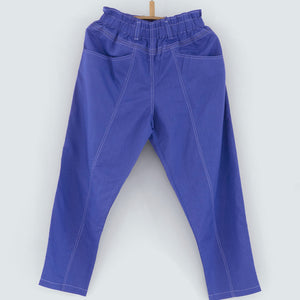 Trader's Trousers in Ceramic Blue