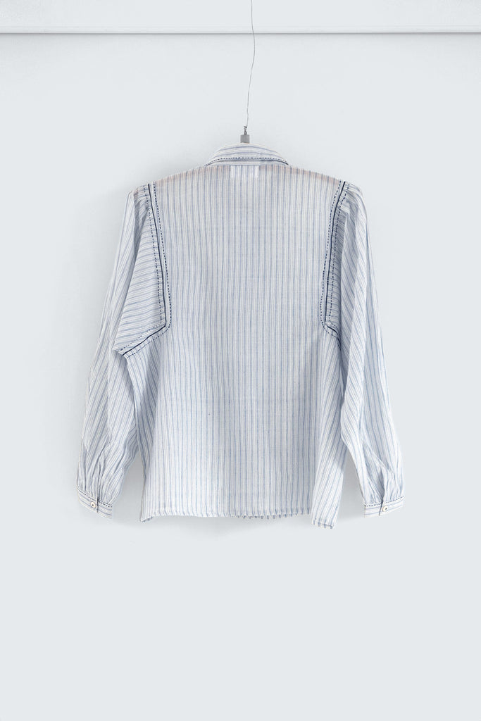 The Author's Blouse in Khadi Cotton