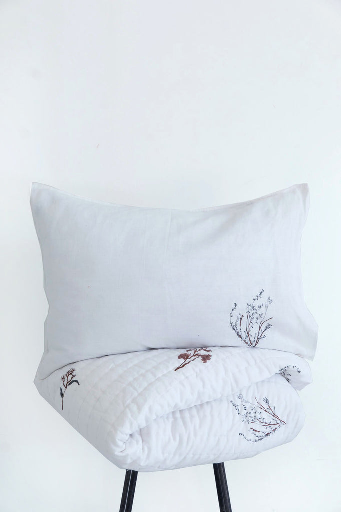 Fynbos Print Bedding & Robe Gift Set