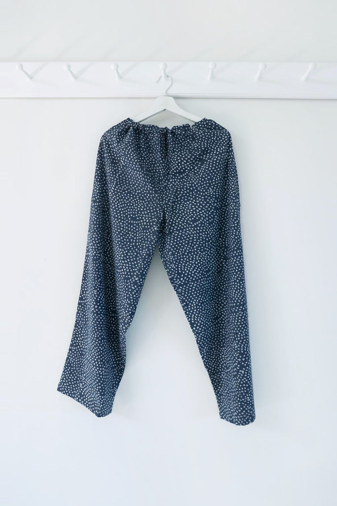 Scrub Print Pants in Karu Blue