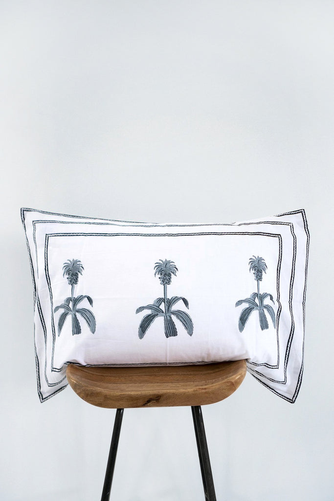 Pineapple Flower Pillow Cover