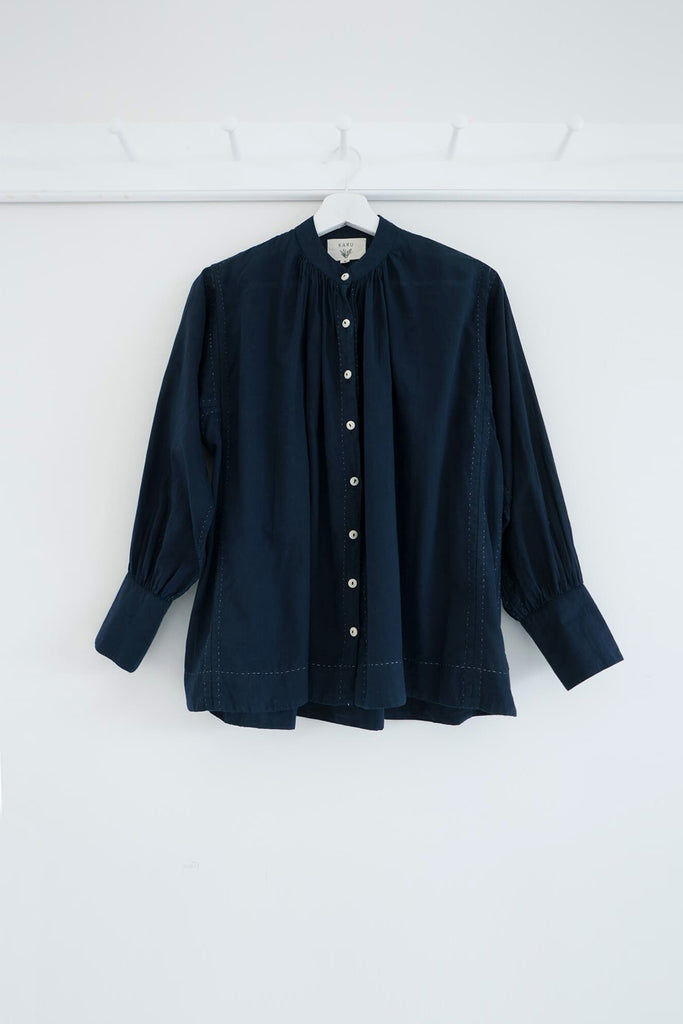 The Potter's Blouse in Midnight