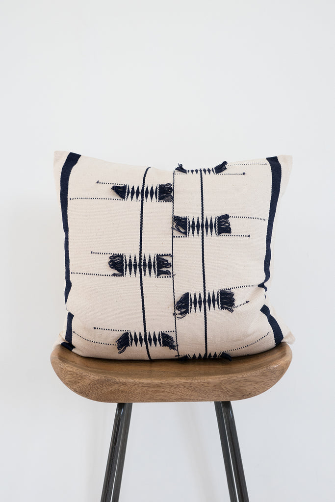 Nagaland Cushion in Cream