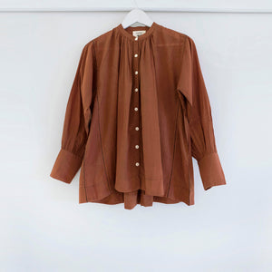 The Potter's Blouse in Terracotta