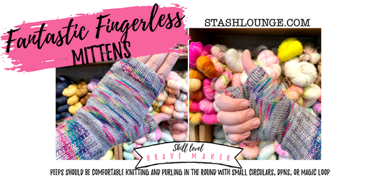 Fantastic Fingerless Mittens