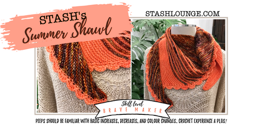 STASH's Summer Shawl