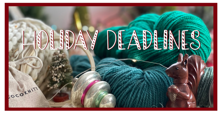 Important Holiday Deadlines