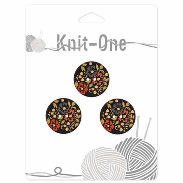Knit-One Buttons - Wood 7/8 in.