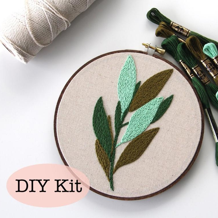 Femmebroidery Embroidery Kit | Bay Laurel