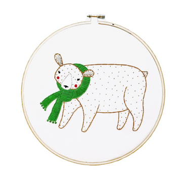 Gingiber Embroidery Sampler