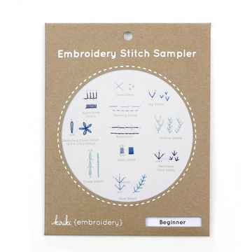 Kiriki Press Stitch Sampler