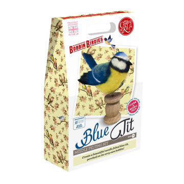 Bobbin Birdies Felting Kit: Blue Tit