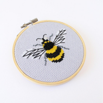 Diana Watters Bumblebee Cross Stitch Kit