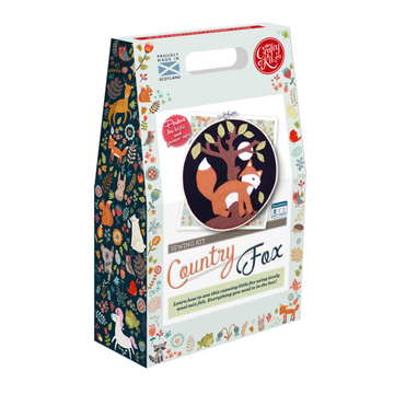 Sewing Kit: Country Fox