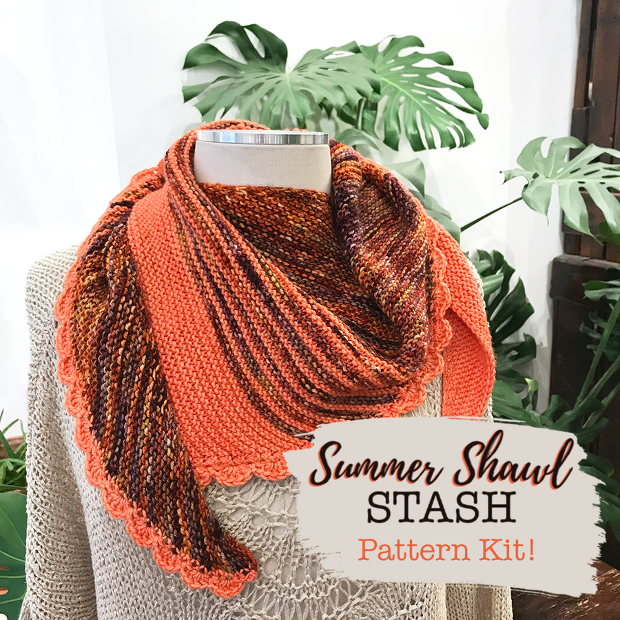 Summer Shawl Kit by STASH Lounge
