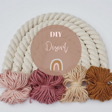 Little Sparrow DIY Macrame Rainbow Kit
