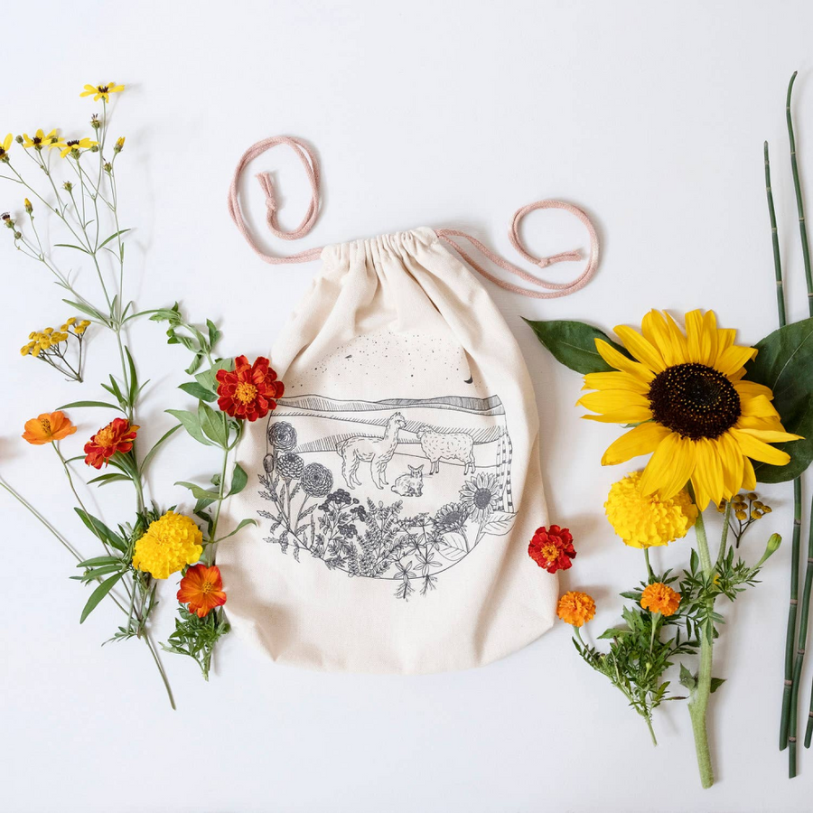 Echoview Friends & Flowers Project Bag
