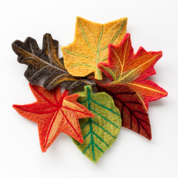 Felted Sky Sculpting with Wool Kit - Fall Leaves