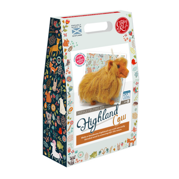 Felting Kit: Highland Cow
