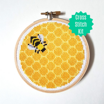 WistfulBird Cross Stitch Kit - Honey Bee