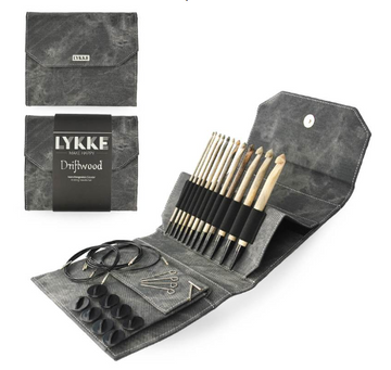 Lykke Driftwood Interchangeable Tunisian Crochet Set