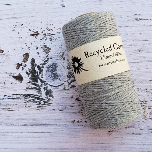 Aster & Vine 1.5mm Recycled Cotton Mini Roll